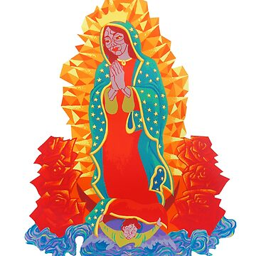 La Virgen de Guadalupe  by revonthem