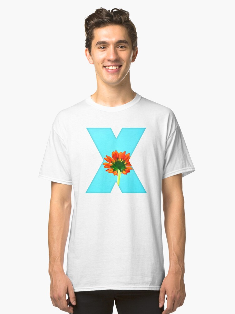 the flower fusion Classic T-Shirt Front