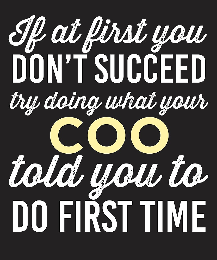Do It Like COO Told You by AlwaysAwesome