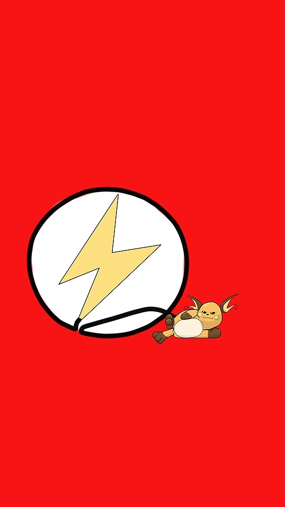 Raichu Flash logo by lazderpman62