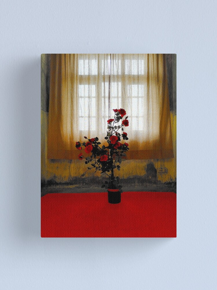 Alternate view of the Rose Canvas Print
