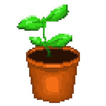 Pixel Plant by bellissimax