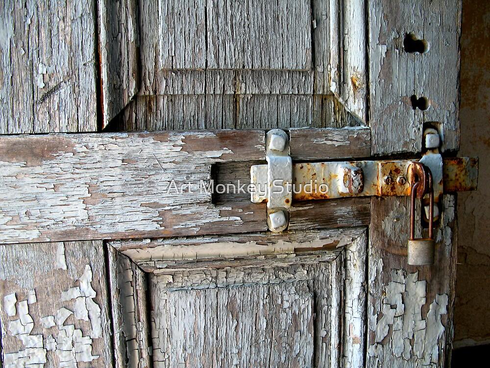 Behind The Door by Dan Perez