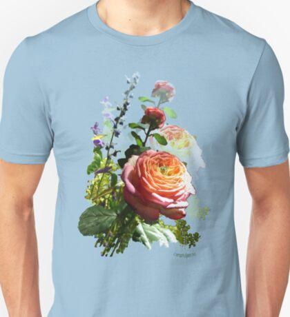 Pink rose Bl T-Shirt