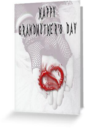 Happy Grandmother's Day by GothCardz