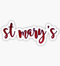 st mary's college of california Sticker