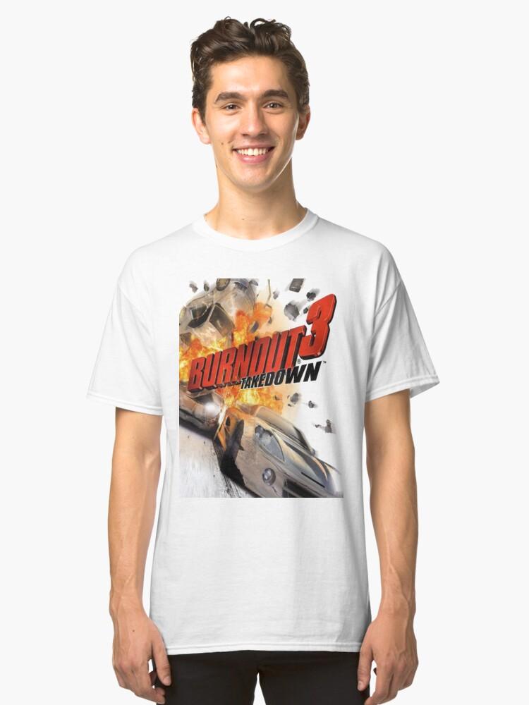 Burnout 3 Takedown PS2/XBOX Classic T-Shirt Front