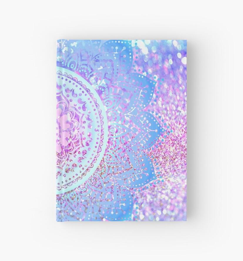 Cuadernos De Tapa Dura Mandalas De Colores Pastel De Haroulita