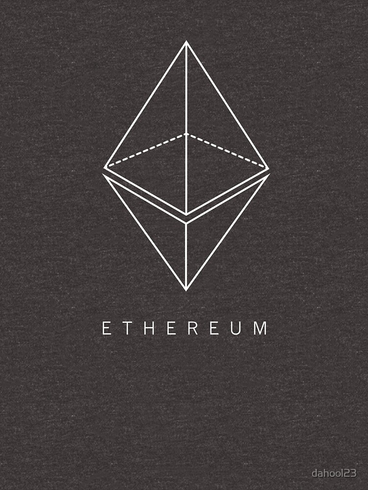 ETEHEREUM - Blockchain Logo von dahool23