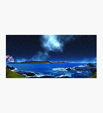 Thoughts of Distant Earth - Collab. Ashley Ng/alienvisitor Photographic Print