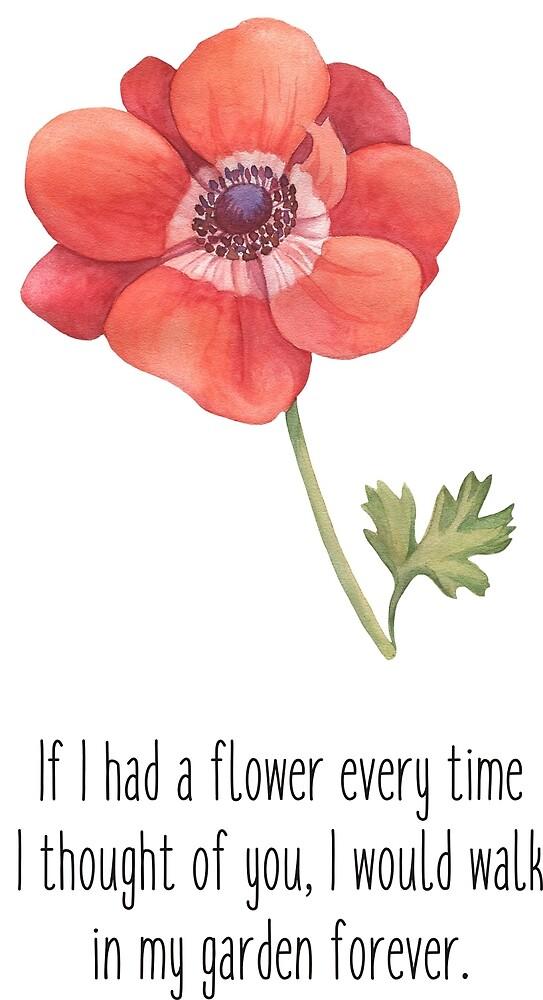 If I had a flower . . . ! by Ian McKenzie