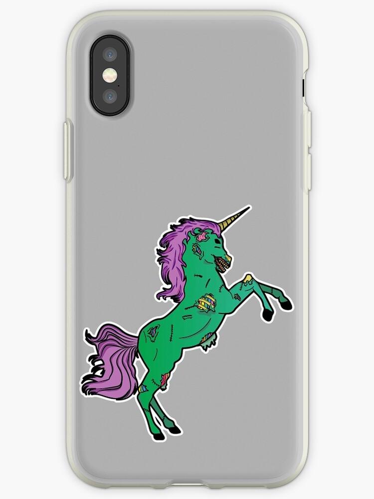 Zombie Unicorn by Thessalkys