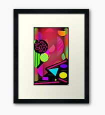 Summer Splash Margarita Galaxy Framed Print