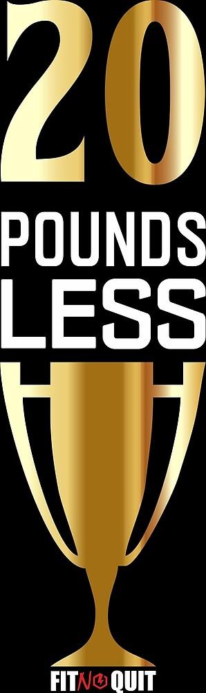 20 Pound Less by jcmeneses