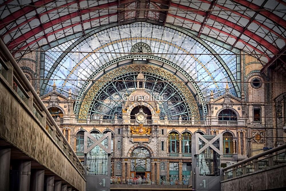 Anvers Railway Station by CameliaC