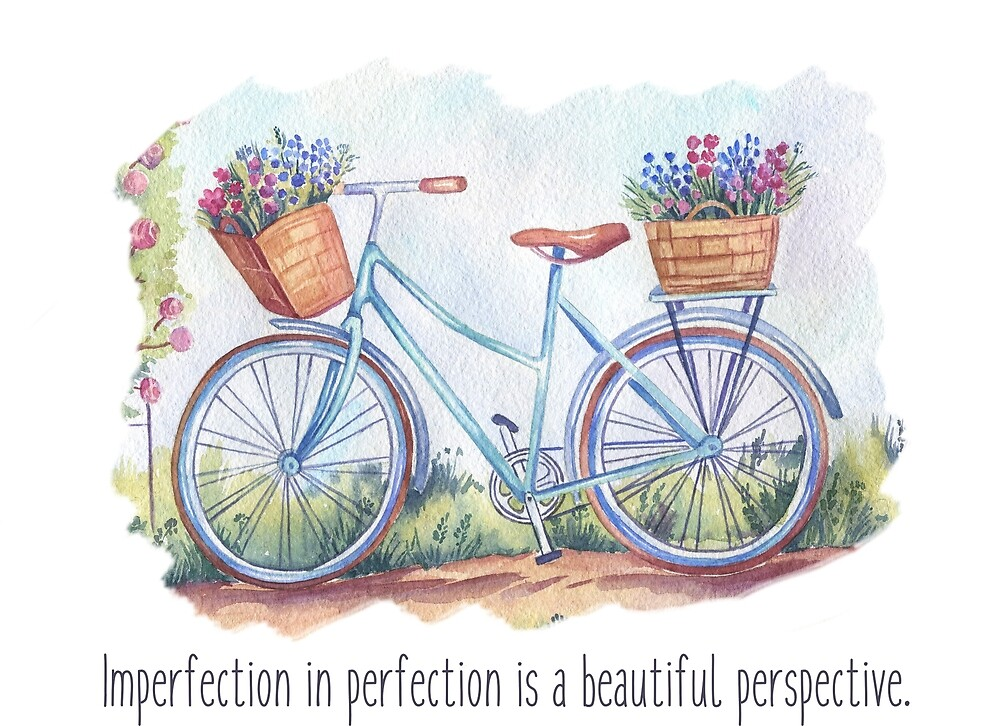 Imperfection in perfection is a beautiful perspective. by Ian McKenzie