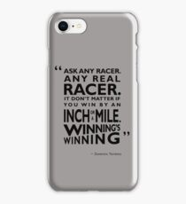 Ask Any Racer iPhone Case/Skin