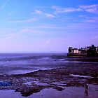 Blue hour on the  UK Beach.. by Arvind Singh