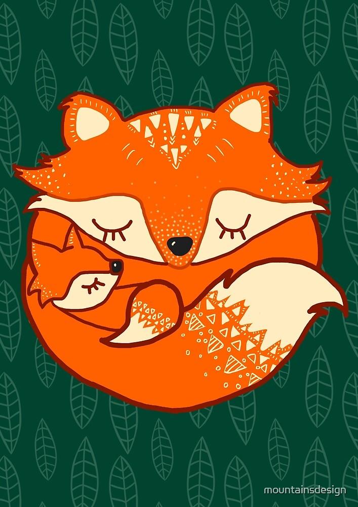 Baby fox by mountainsdesign