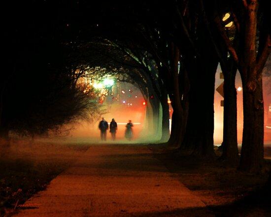 Night Fog in the City by Francesa