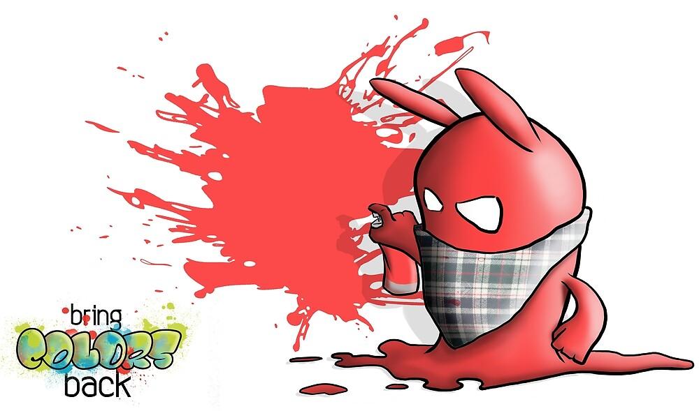 Blob Le Graffeur by mrAnalphaBeat