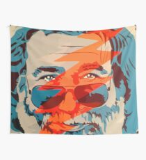 Grateful dead jerry garcia face Wall Tapestry