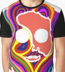 Camiseta gráfica agradecido muerto jerry garcia cara