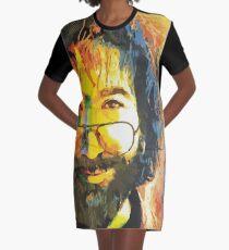 dankbar toter jerry garcia gesicht T-Shirt Kleid