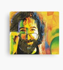 grateful dead jerry garcia face Canvas Print