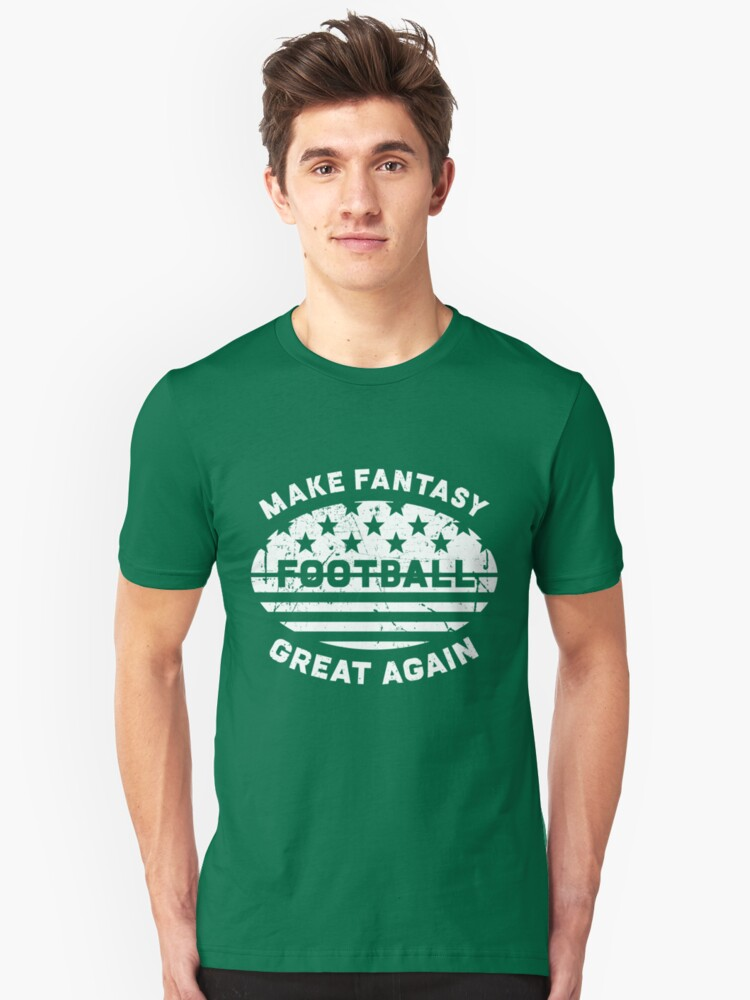 Make Fantasy Football Great Again - Commissioner Unisex T-Shirt Front