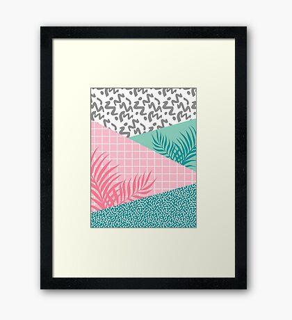 Beverly Hills #redbubble #decor #buyart Framed Print