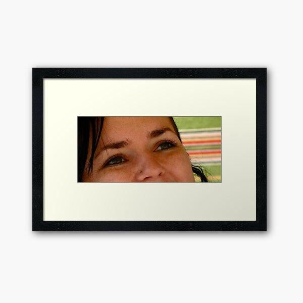 Eye Dream Framed Art Print