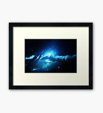 Nebula Dream - Laptop Skins Framed Print