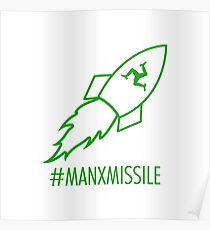 Mark Cavendish - Manx Missile Poster