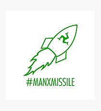 Mark Cavendish - Manx Missile Photographic Print