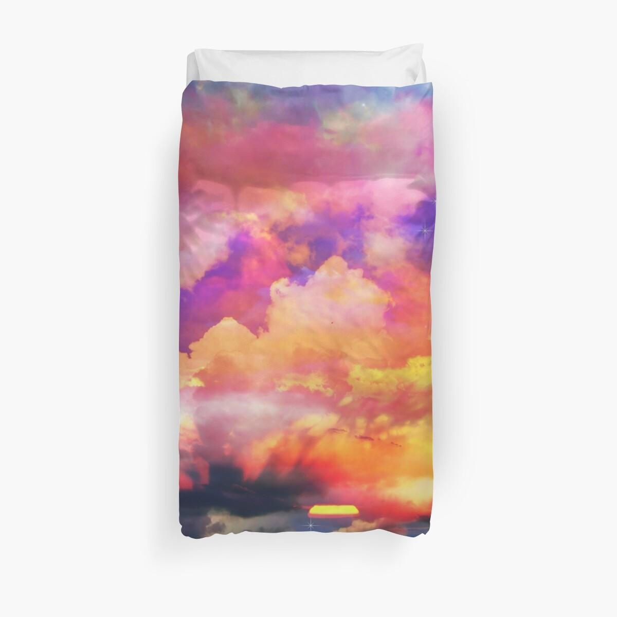 Rainbow magical sky by haroulita