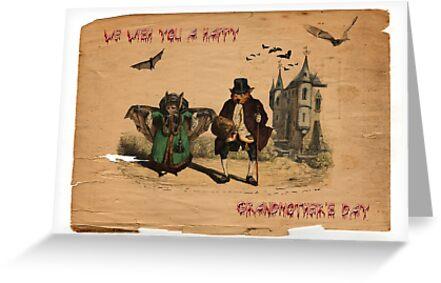 We Wish You A Happy Grandmother's Day by GothCardz