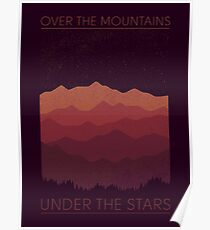 Over The Mountains Poster