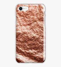 Draped rose gold iPhone Case/Skin