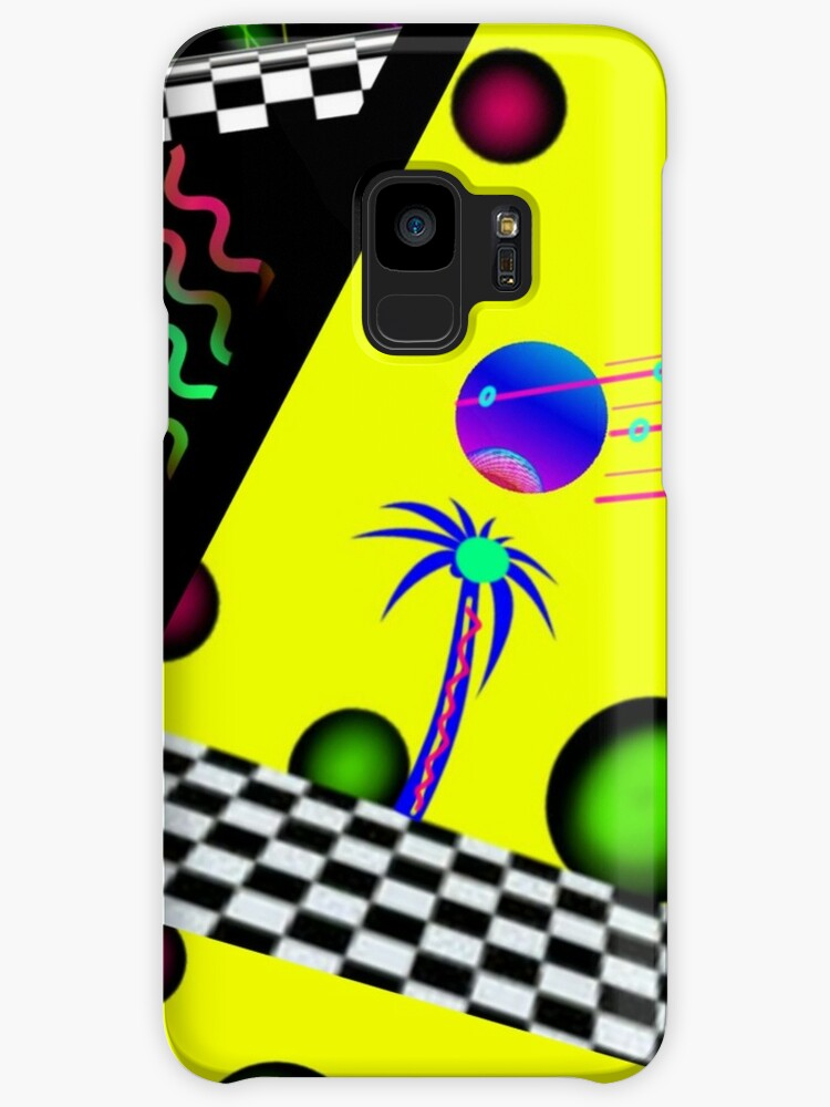Tropical Calypso 80's style vaporwave summer abstract  by neonmoonwaves