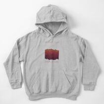 Over The Mountains Kids Pullover Hoodie