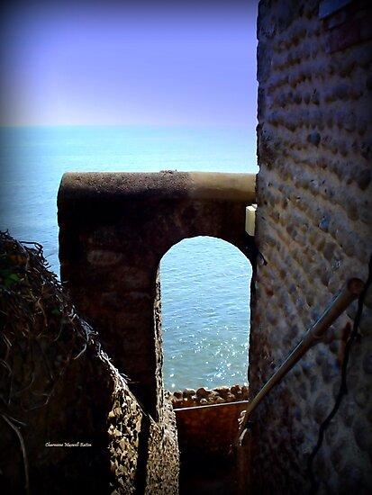 Castle Steps by Charmiene Maxwell-Batten
