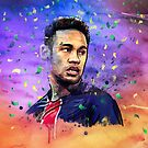 Classic Neymar by Mark White