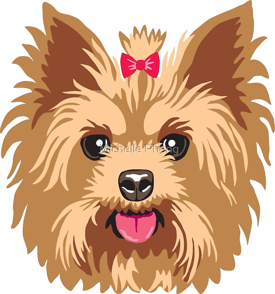 Yorkie by Michelle Phong