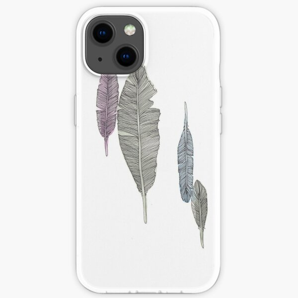 Feathers #2 iPhone Soft Case