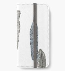 Feathers #2 iPhone Wallet
