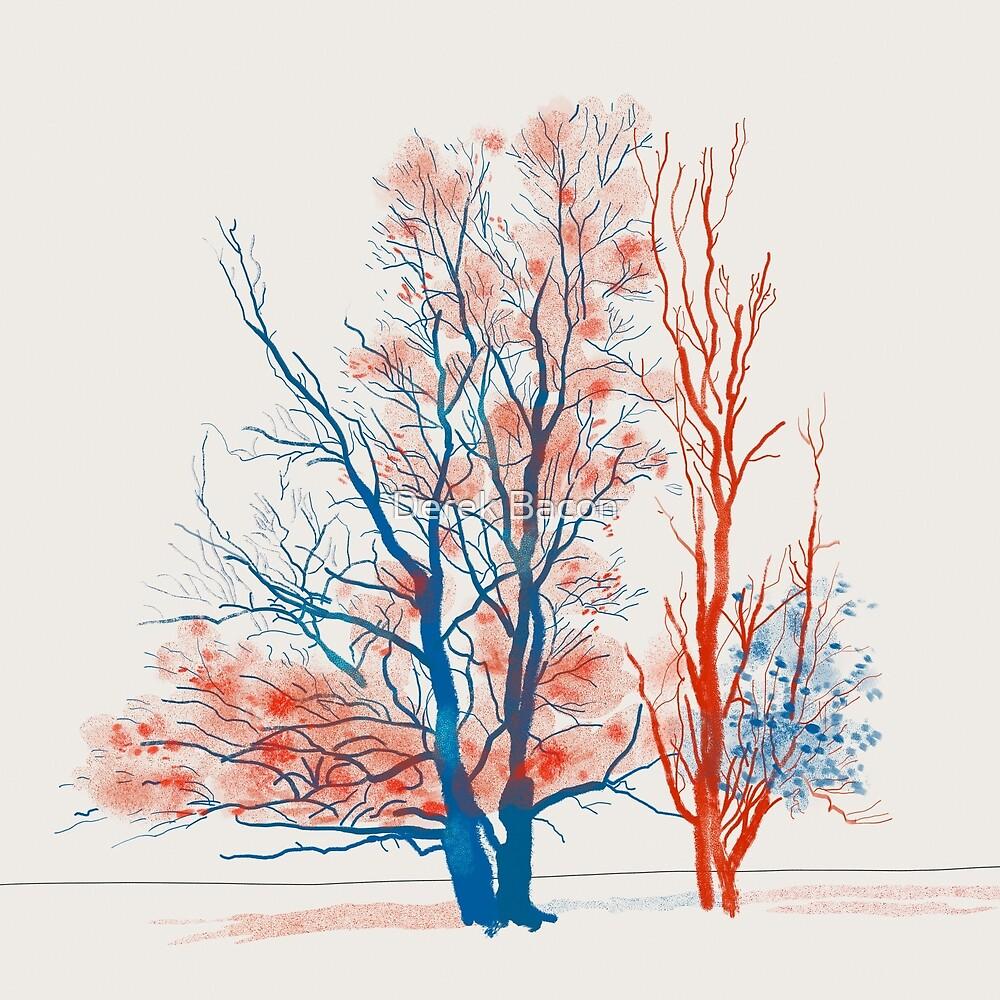 Twiske Trees by Derek Bacon