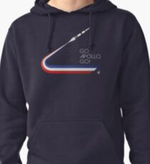 GO APOLLO, GO! We choose to go to the Moon... Pullover Hoodie
