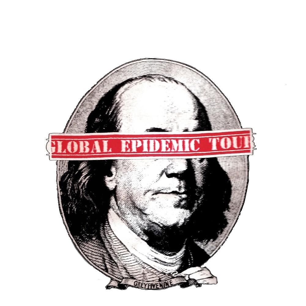 $UICIDEBOY$ GLOBAL EPIDEMIC TOUR MERCH by sqndzn