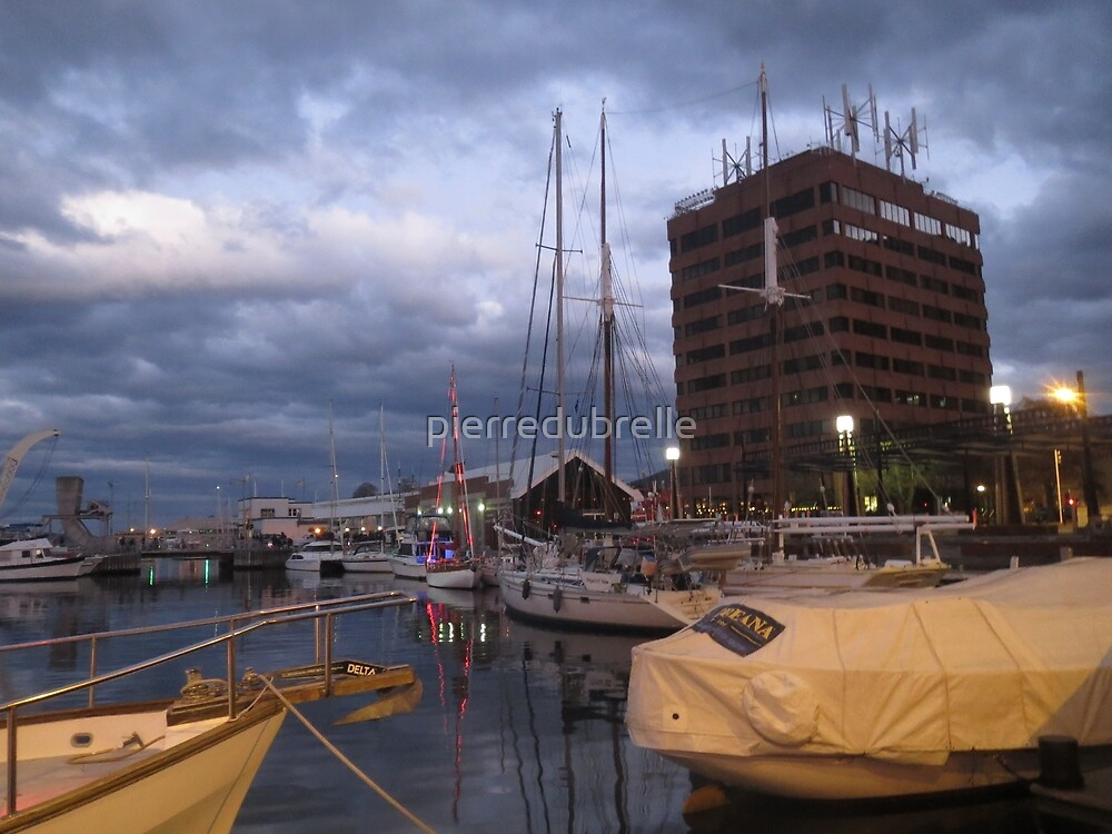 Hobart Wharf by pierredubrelle